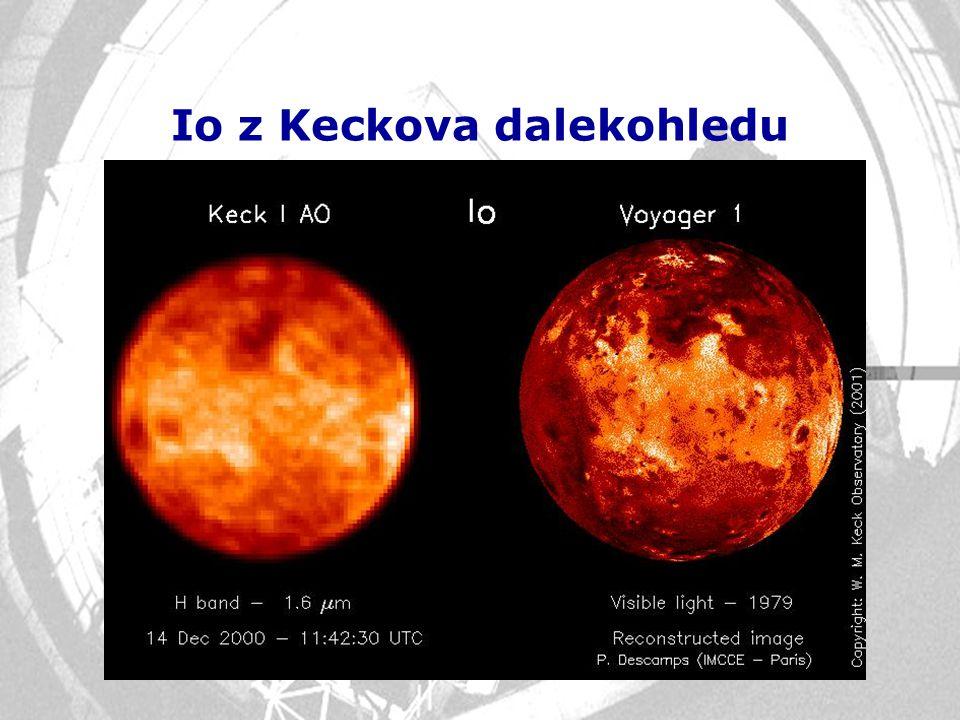 Io z Keckova dalekohledu