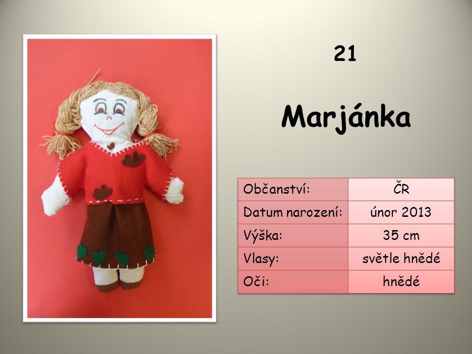 Marjánka 21