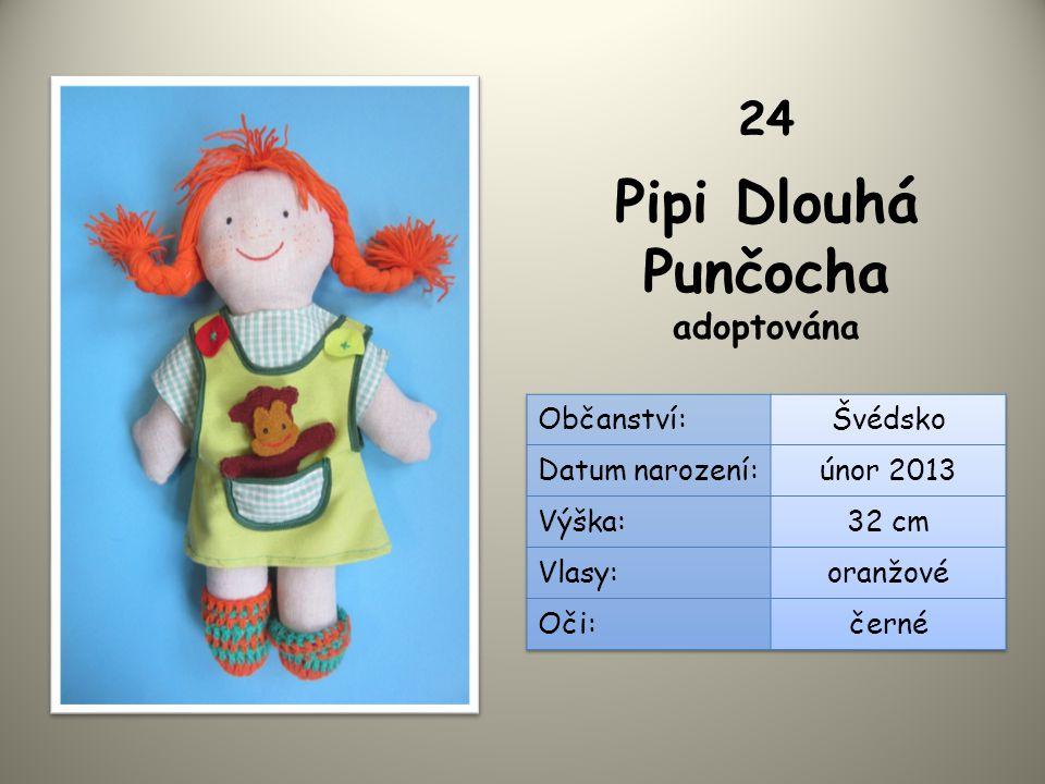 Pipi Dlouhá Punčocha adoptována 24