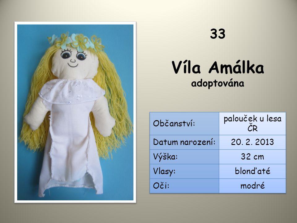 Víla Amálka adoptována 33