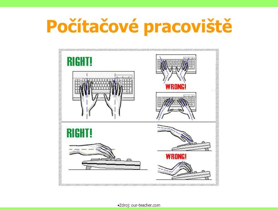 Zdroj: our-teacher.com Počítačové pracoviště