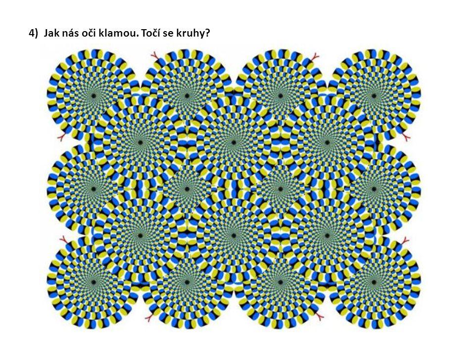4) Jak nás oči klamou. Točí se kruhy?