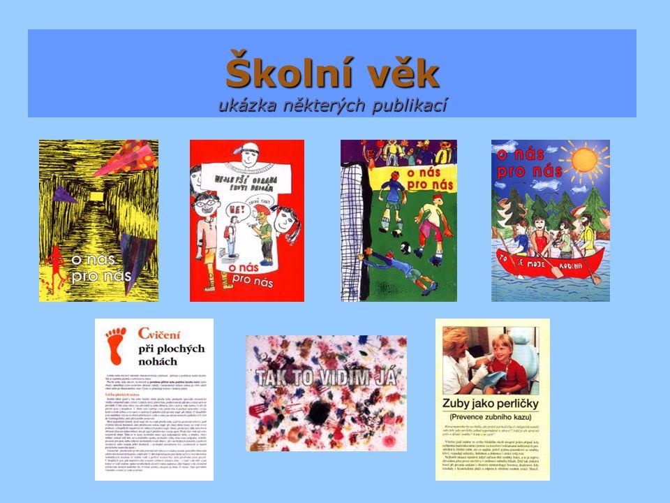 Školní věk ukázka některých publikací