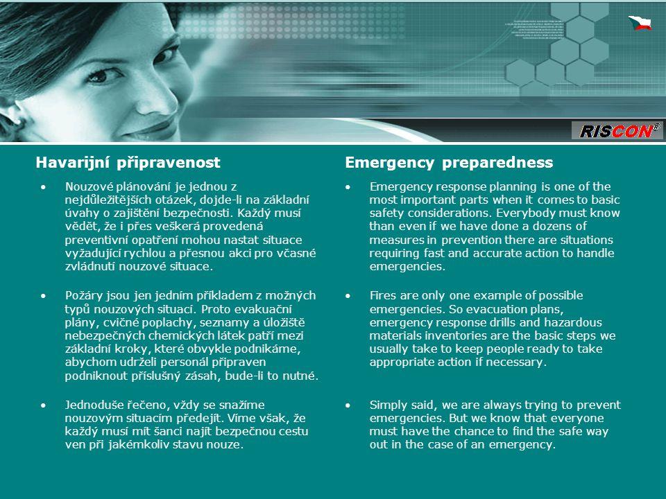 Nouzové plánování je jednou z nejdůležitějších otázek, dojde-li na základní úvahy o zajištění bezpečnosti.
