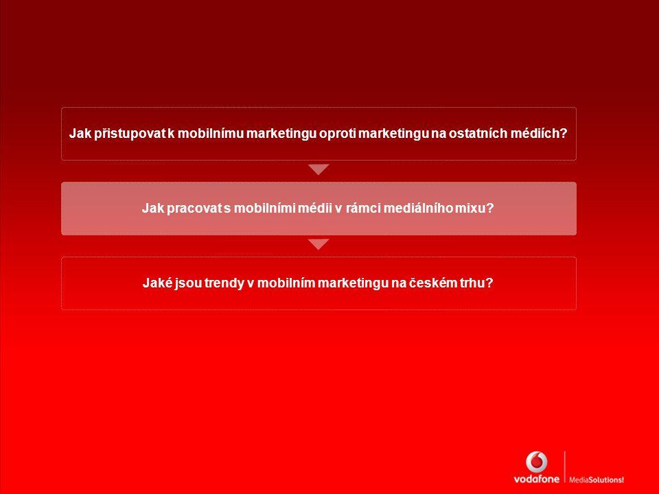 Jak přistupovat k mobilnímu marketingu oproti marketingu na ostatních médiích.