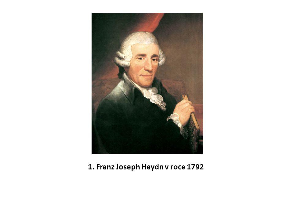 Ve slavné trojici vídeňských skladatelů, vrcholných představitelů hudebního klasicismu, Haydn – Mozart – Beethoven zaujímá prvně jmenovaný zvláštní místo.