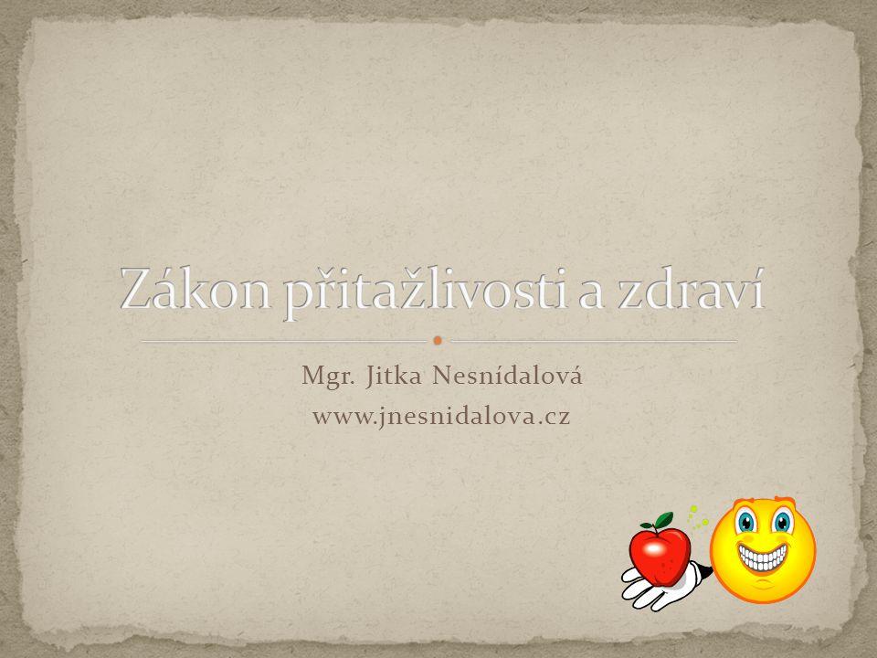 Mgr. Jitka Nesnídalová www.jnesnidalova.cz