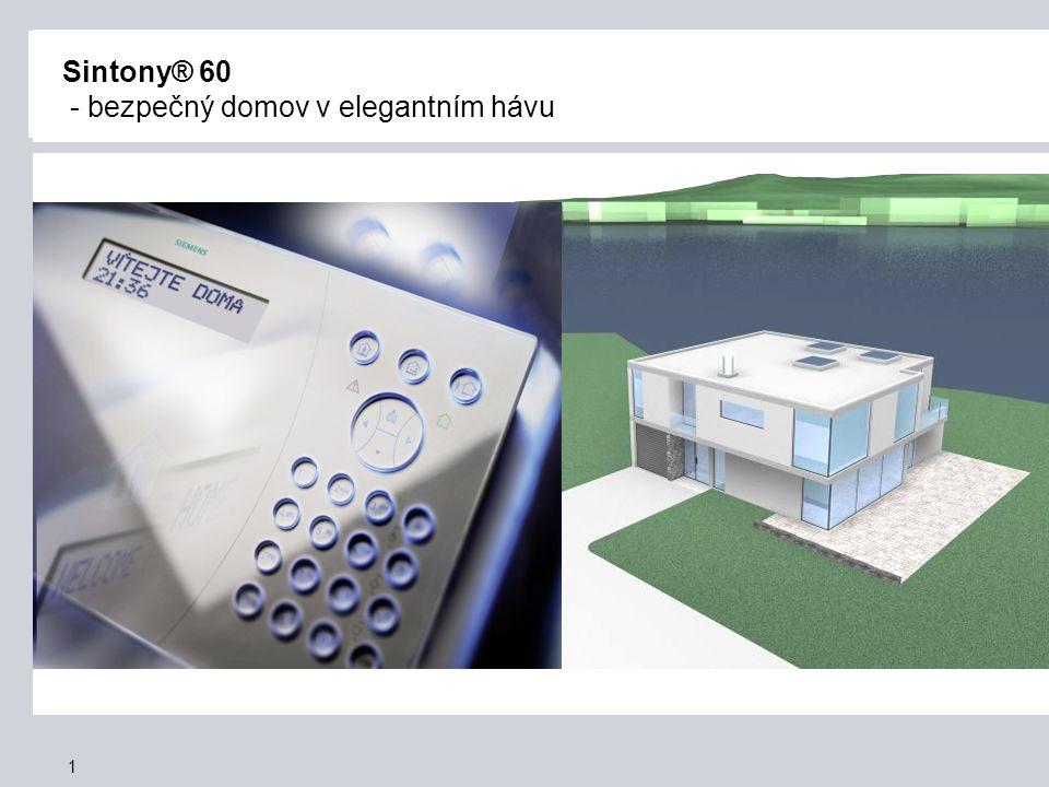 1 Sintony® 60 - bezpečný domov v elegantním hávu