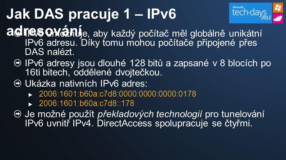 IPv6 umožňuje, aby každý počítač měl globálně unikátní IPv6 adresu.