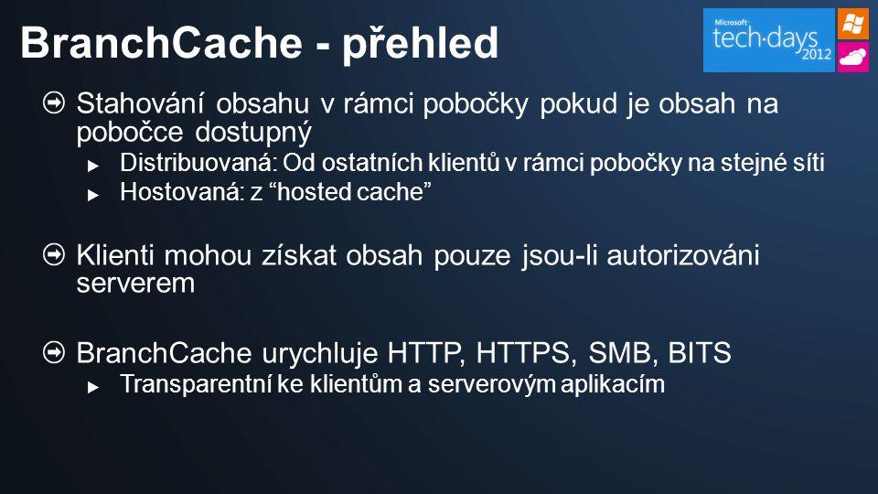 Používá architekturu peer-to-peer, obsah je uložený na klientovi Windows 7, který jej první vyžádá.