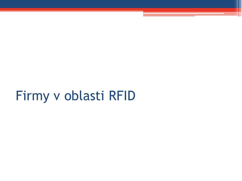 Firmy v oblasti RFID