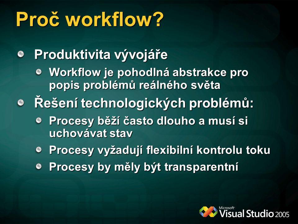 Proč workflow.