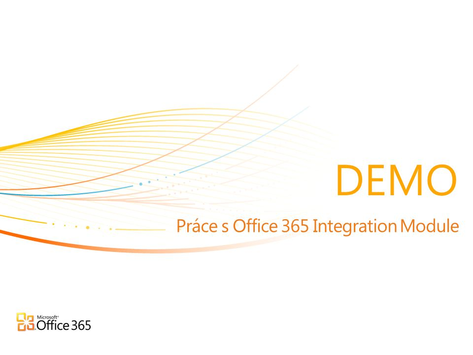 Práce s Office 365 Integration Module DEMO