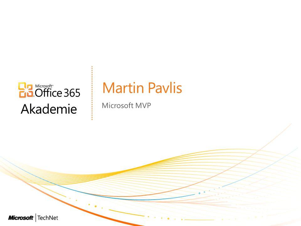 Akademie Martin Pavlis Microsoft MVP