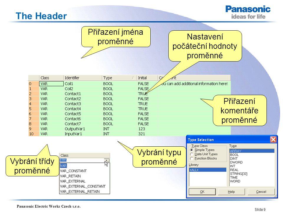 Panasonic Electric Works Czech s.r.o.