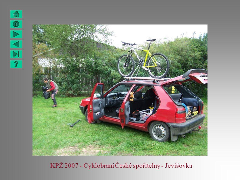 KPŽ 2007 - Cyklobraní České spořitelny - Jevišovka