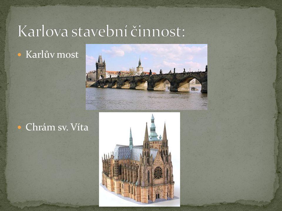 Karlův most Chrám sv. Víta
