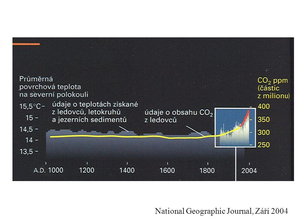 National Geographic Journal, Září 2004