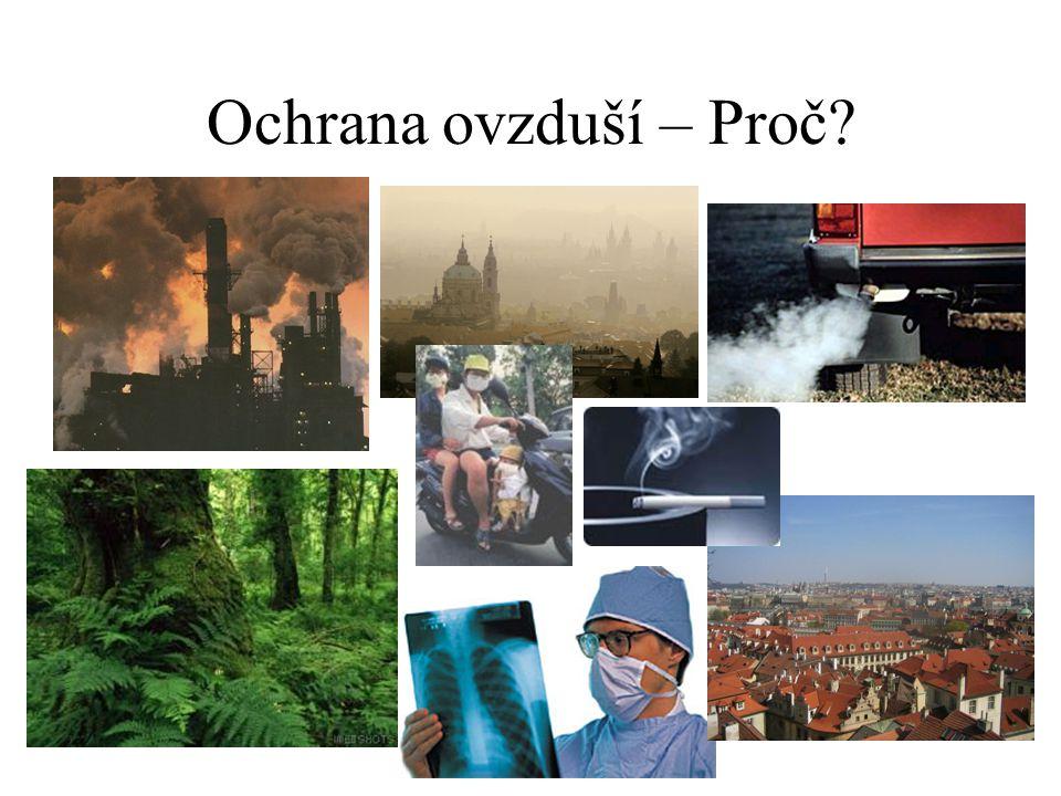Zpráva o životním prostředí – MŽP - 6.10.2004 Čech = 500 kg/rok = 60% končí na skládkách ČR…2x více energie > Produkce CO 2 >> Nárůst aut o 90.000 za poslední rok >40% lidí v ČR žije v zamořeném prostředí = žít jako nekuřák s kuřákem