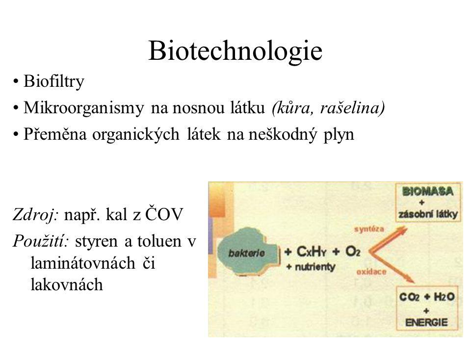 Biotechnologie Zdroj: např.