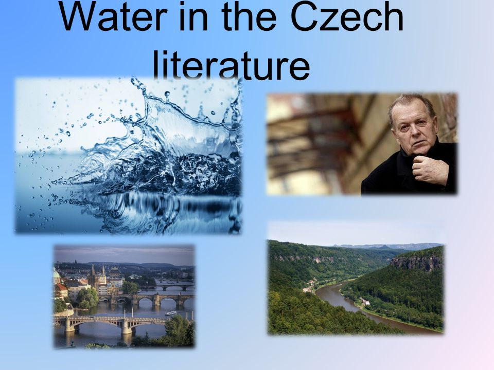 Water in the Czech literature