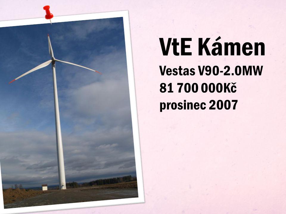 Podstatná část výroby komponentů pro větrné elektrárny jsou vykonávány českými firmami.