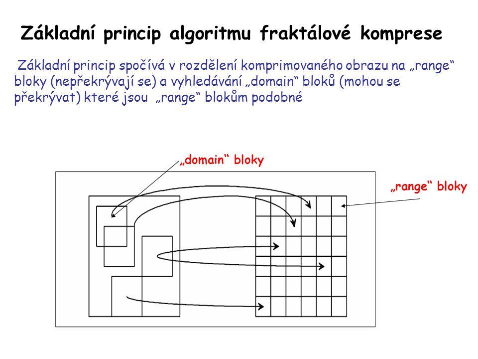 """""""domain bloky se mohou vyskytovat buď v základním tvaru nebo v transformované podobě."""