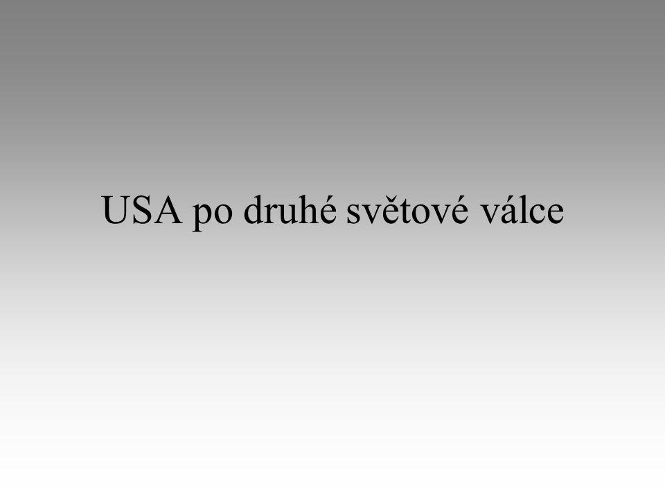 USA po druhé světové válce