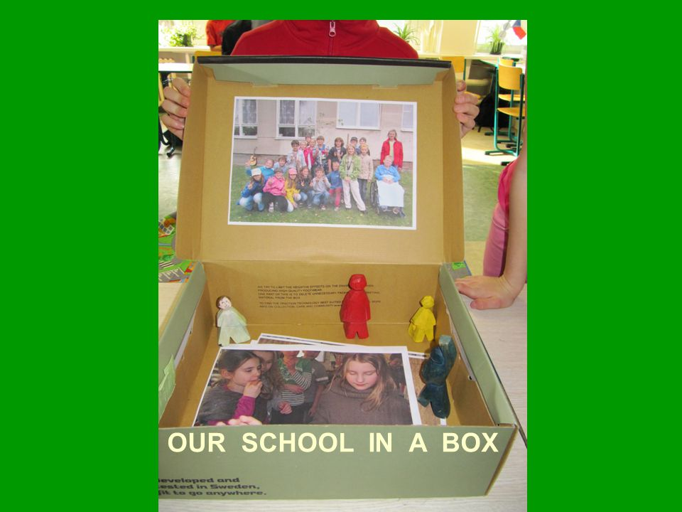 OUR SCHOOL IN A BOX