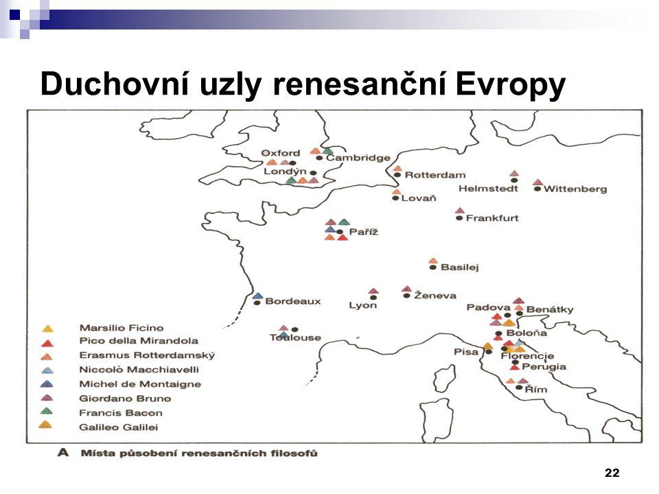 Duchovní uzly renesanční Evropy 22