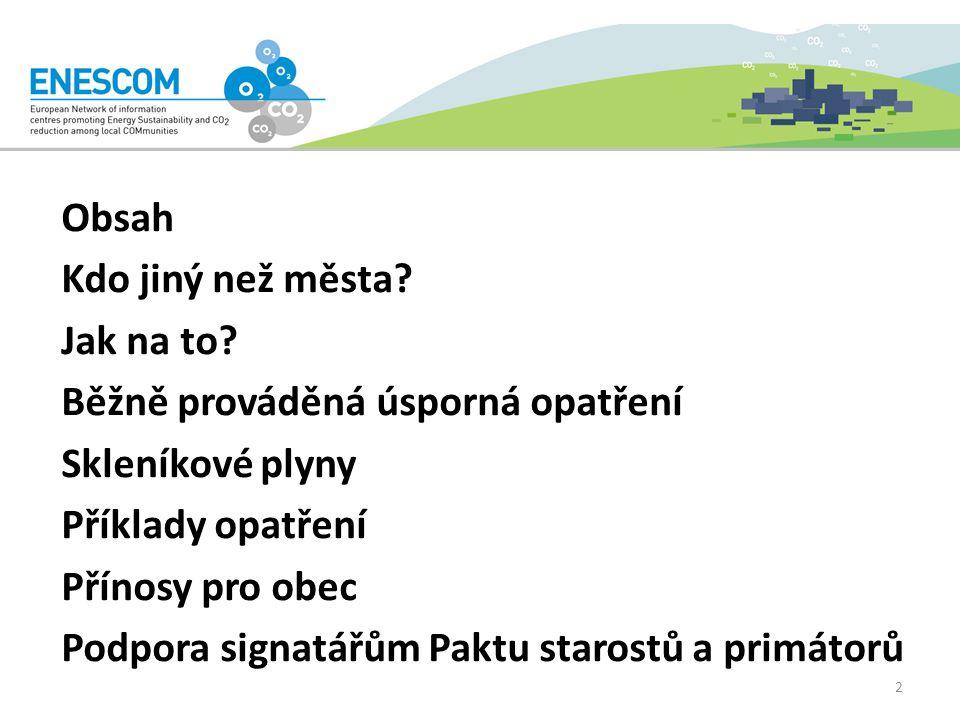 Příklad využívání obnovitelných zdrojů Město Litoměřice – podpora dotacemi na instalaci: solárních kolektorů na ohřev TUV od r.