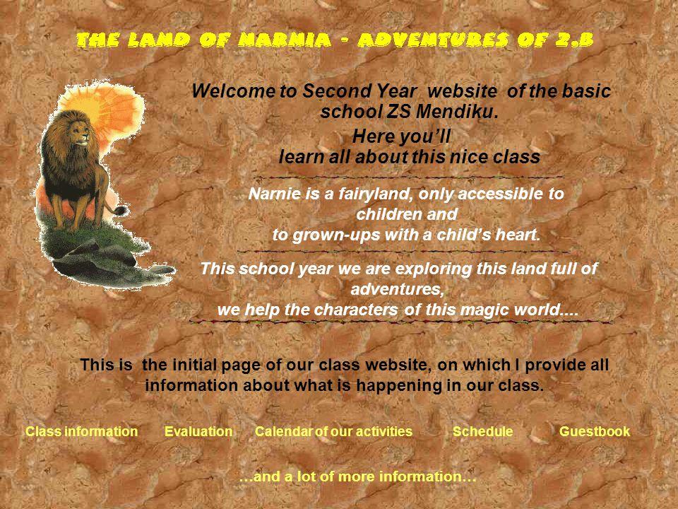 Welcome to Second Year website of the basic school ZS Mendiku. Here you'll learn all about this nice class Vítáme Vás na stránkách druháčků ZŠ Mendíků