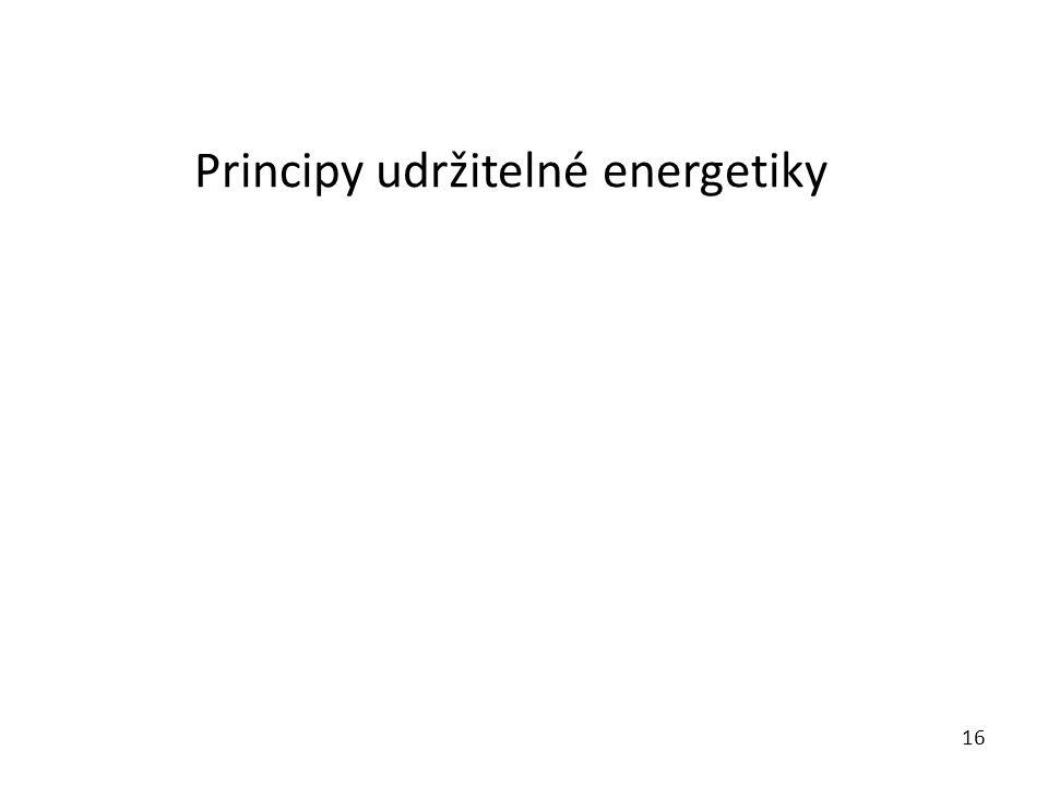 Principy udržitelné energetiky 16