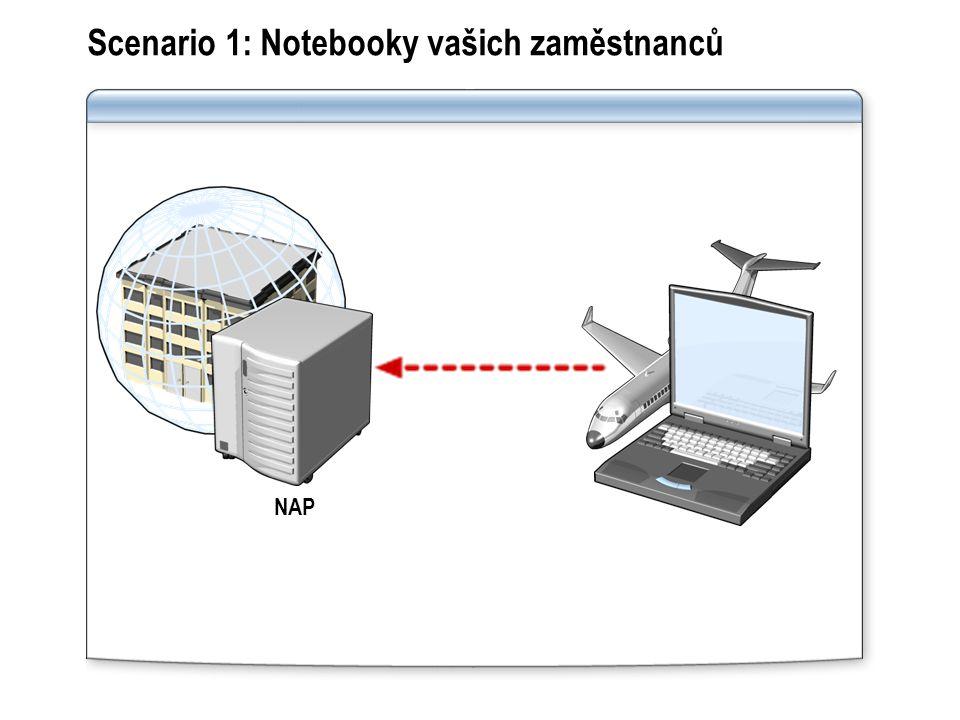 Scenario 1: Notebooky vašich zaměstnanců NAP