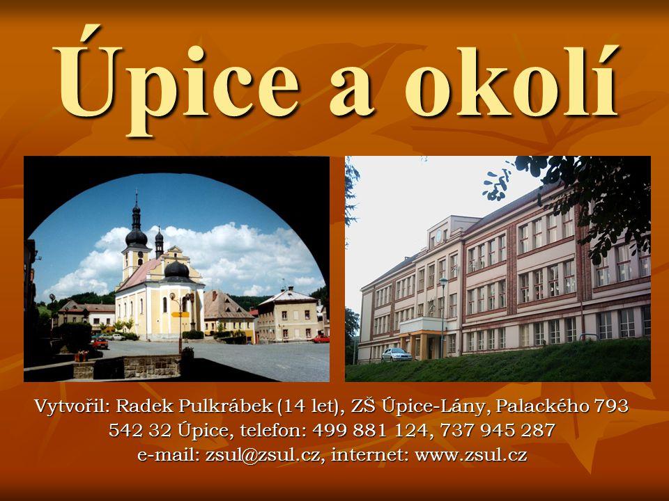 Prameny a fotografie http://www.fylkir.ic.cz/upice.phphttp://www.ergis.czhttp://www.jestrebihory.czhttp://www.jestrebihory.nethttp://www.t-s26.czhttp://adrspassko-a-broumovsko.turistik.cz/cs/http://www.vitejte.czhttp://www.tuzemska-dovolena.czhttp://www.sweb.czhttp://www.pampeliska.cz V.
