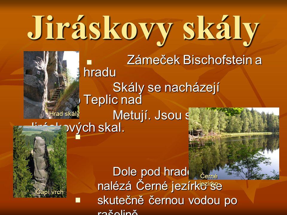 Adršpašské skály Velmi navštěvovaným místem je Adršpašské Velmi navštěvovaným místem je Adršpašské skalní město, které je menší součástí skalní město,