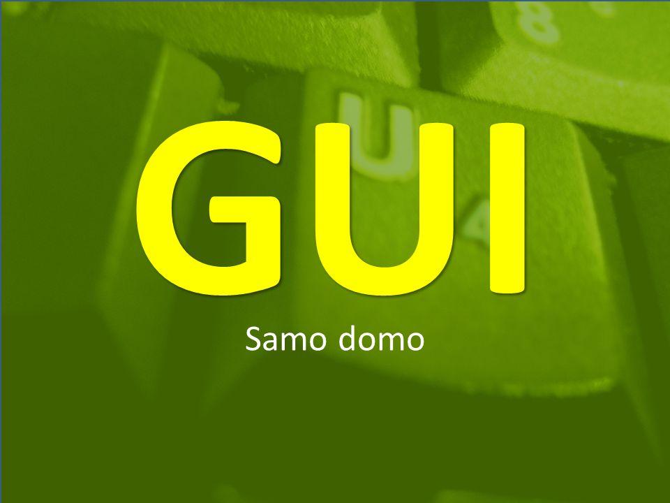 GUI Samo domo
