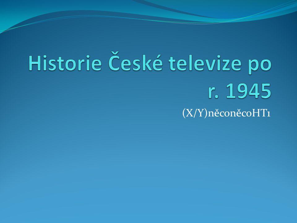 Televizní studio Ostrava První televizní studio na Moravě a ve Slezku Počátek historie od r.