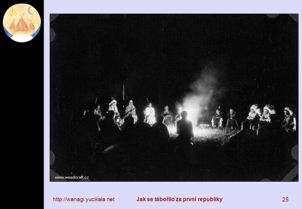http://wanagi.yucikala.netJak se tábořilo za první republiky 25