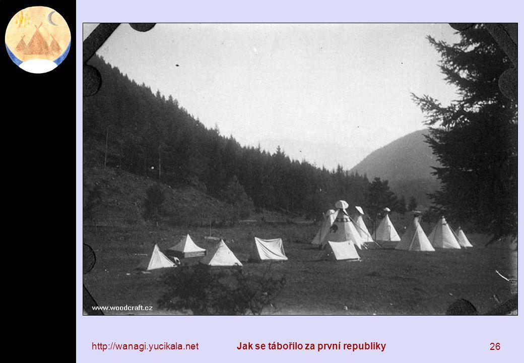 http://wanagi.yucikala.netJak se tábořilo za první republiky 26