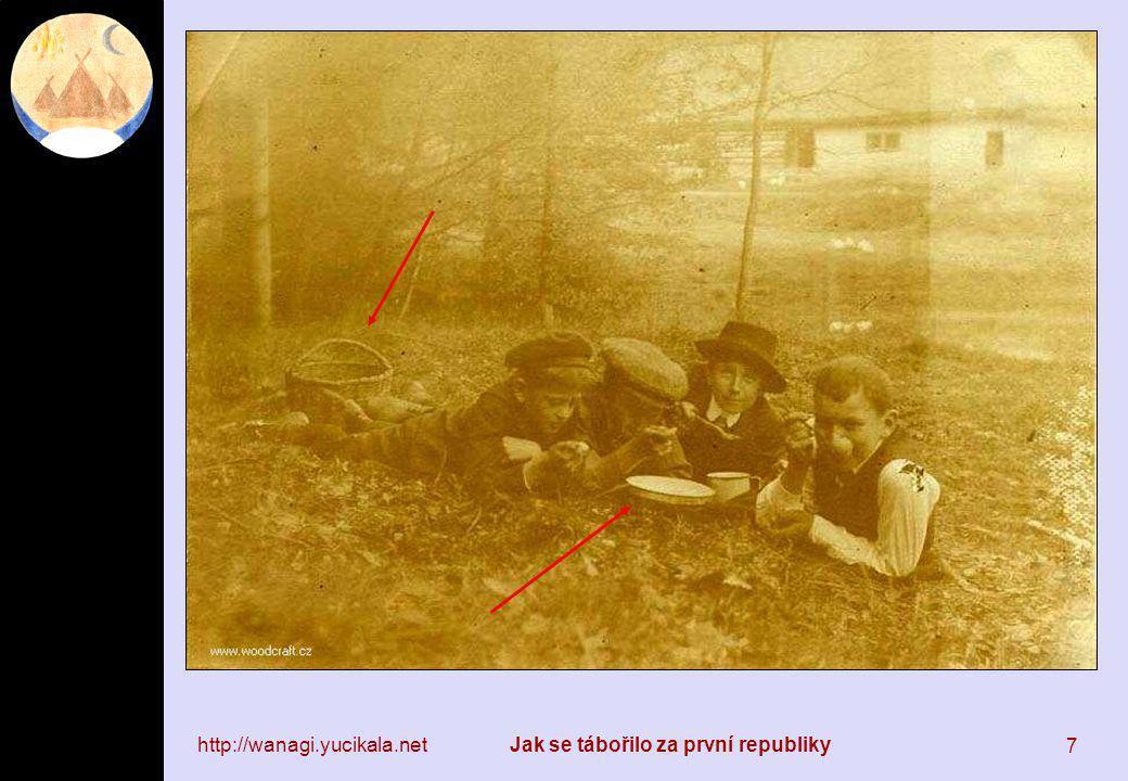 http://wanagi.yucikala.netJak se tábořilo za první republiky 28