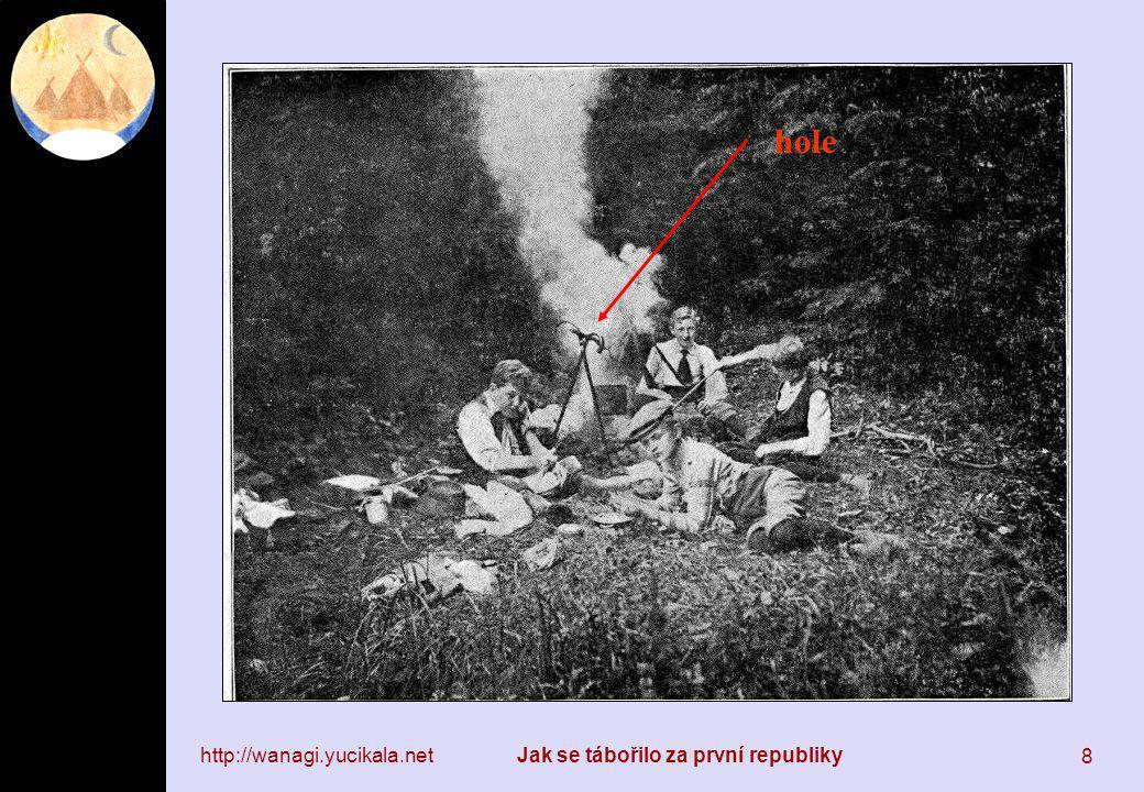 http://wanagi.yucikala.netJak se tábořilo za první republiky 9