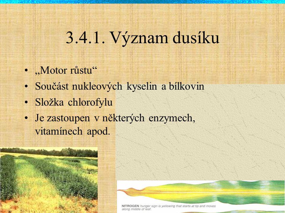 Specifika hnojení dusíkem rychlé změny forem živiny v půdě možnost ztrát (vyplavování, plynné ztráty) NESTANOVUJEME V AZP !!.
