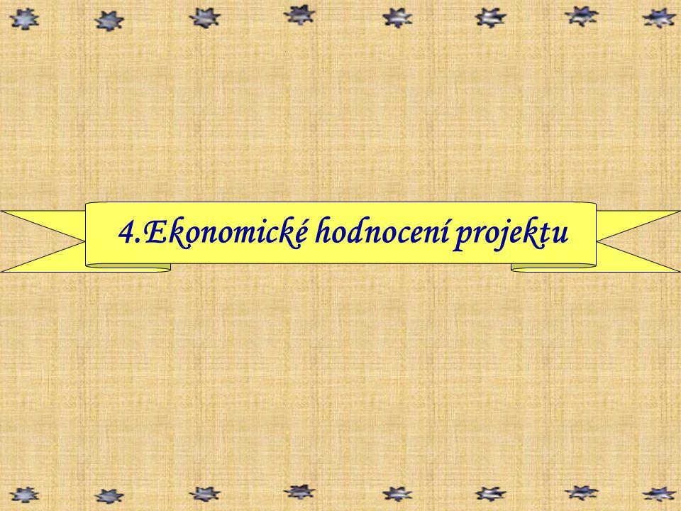 4.Ekonomické hodnocení projektu