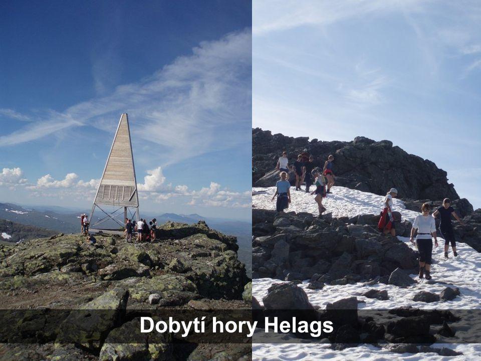 Dobytí hory Helags