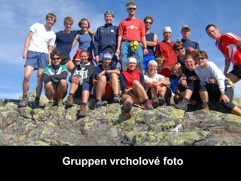 Gruppen vrcholové foto