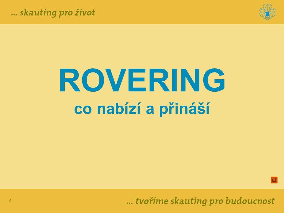 12 ROVERSKÝ PROGRAM Projekty