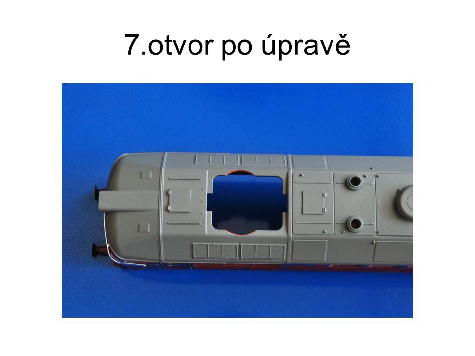 8. připraveno pro vložení ventilátoru