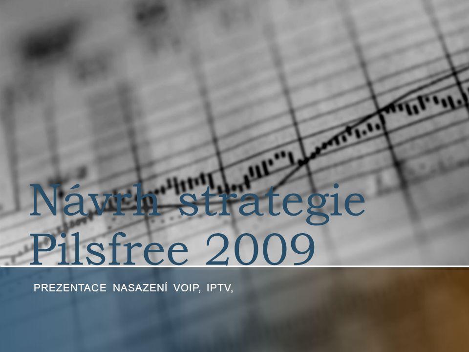 Návrh strategie Pilsfree 2009 PREZENTACE NASAZENÍ VOIP, IPTV,