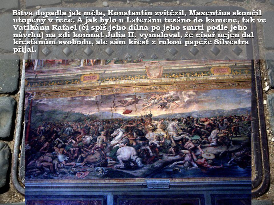 """Na nebi zaplál kříž a císař slyšel """"In hoc signo vinces Na nebi zaplál kříž a císař slyšel """"In hoc signo vinces - v tomto znamení zvítězíš."""